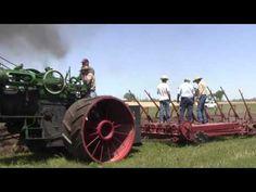 The Oklahoma Steam Threshers Association 75 HP Case plowing, Pawnee Oklahoma