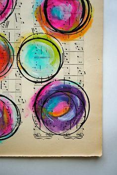 craft, cloud, paint tutorial, painting circles, circle painting