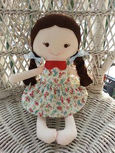a handmade rag doll. www.facebook.com/dandelionwishesbymimi  www.dandelionwishesmimi.etsy.com