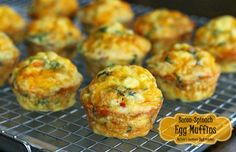 Melissa's Southern Style Kitchen: Bacon-Spinach Egg Muffins