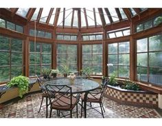 Stately sun room! #Brookline