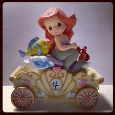 ariel little mermaid birthday car precious moments