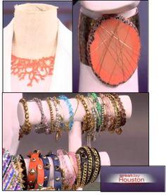 Great Day Houston TV segment featuring ML Accessories by Monique Leshman!!