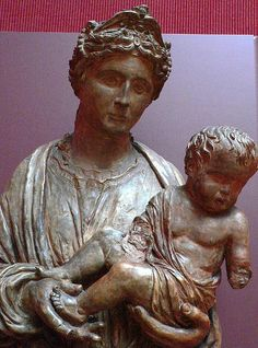 Virgin and Child Terracotta Italian Riccio 1570 2 by mharrsch, via Flickr