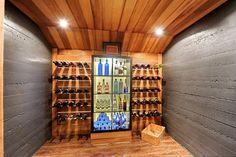 Modern house remodel - modern - wine cellar - montreal - vincent gregoire