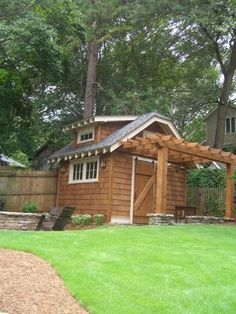 Potting Shed - traditional - garage and shed - atlanta - Clark Harris