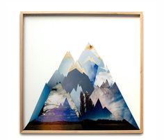nature collage print / liesl pfeffer
