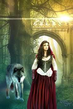 Once Upon a Time Ruby | Red Riding Hood - Once upon a time by ~SPRSPRsDigitalArt on deviantART