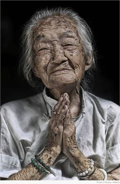 nice one. Old lady, hands, lines of life, beauty, wrinckles, portrait, photo