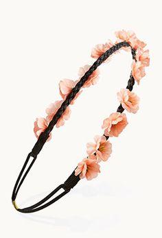 Braided Floral Headband