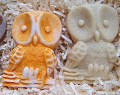 Owl Hand Sculpted Design Silicone Soap Mold. $28.00, via Etsy.