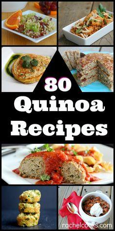 80 Quinoa Recipes on RachelCooks.com