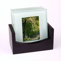 Set of 4 glass coasters with art photo prints by behindmyblueeyes, $30.00