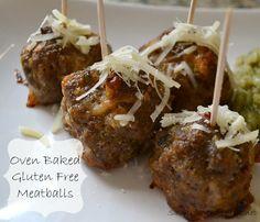 Easy Oven Baked Gluten Free Meatballs Recipe