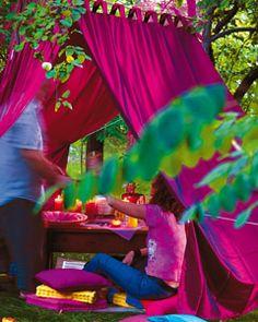 DIY garden tent