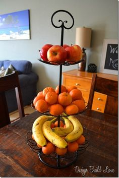 Organize your fruit with a plant stand