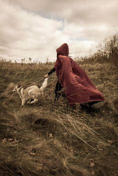 Red riding hood red riding hood, hoods, red ride, ladi wolfsh, ftlittl red, ian mcnalli, ride hood, bad wolf, fairytal inspir