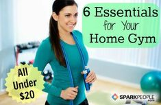 6 Essentials for Your Home Workouts | via @SparkPeople #gym #fitness #gift #holiday