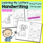 **On sale for the first week!!**  Your students will enjoy these NEWLY REVISED handwriting / tracing practice pages for every letter of the alphabe...