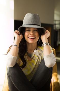 Fun Fashion Frenzy: Change things up with a tie-dyed shirt and stylish hat! #Silpada #WomensFashion