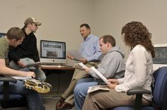 Journalism students have the opportunity to play key roles in professional ventures at Anderson University, including WQME 98.7 FM, the Andersonian newspaper, and in video productions such as the Emmy® Award-winning documentary A Ripple of Hope. These cross-media opportunities prepare students for roles in today's diverse media.