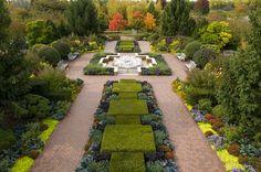 The Circle Garden at Chicago Botanic Garden
