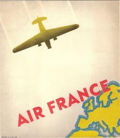 Air France brochure, c1935 | Flickr - Photo Sharing!
