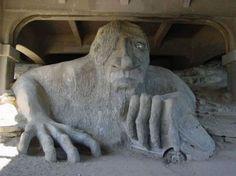 SculptureUnder a bridge in Seattle, WA