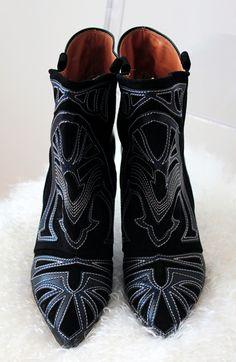 isabel marant berry boots via le fashion