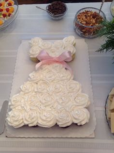 "Absolutely love this cupcake wedding shower ""cake!"""