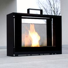 Travelmate Fireplace now featured on Fab.