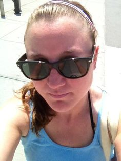 @yankeegirl51680: Rocking my red/white/blue headband for the 4th on this hot NYC day @SPARKLYSOULINC