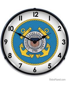 U.S. Coast Guard Light Up Clock http://www.retroplanet.com/PROD/39077