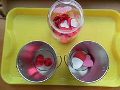 Valentine Tray Activities and more Valentines Ideas on this post!