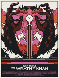 The Wrath of Khan poster by We Buy Your Kids for Mondo