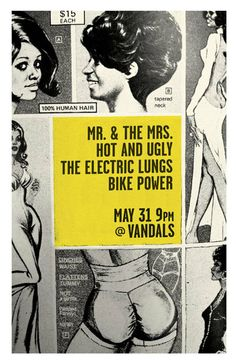 Electric Lungs, The - Mr. & The Mrs. - Hot And Ugly - Bike Power by Eric Jones