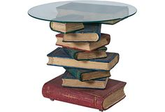 Now that is a literary coffee table!