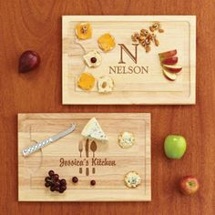 Personalized Wood Carving Board, Name