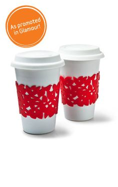 Fun Red Beverage Sleeves
