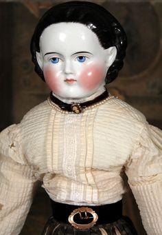 "25"" Antique ""Alice"" German China Doll"