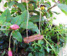 Handmade Clay Miniature Swing - Fairy Garden Accessories. $4.00, via Etsy.