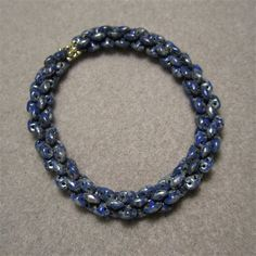 Stitch Pro: Bead a Rope with 2-hole Super Duo or Twin seed beads - Inside Beadwork Magazine - Blogs - Beading Daily