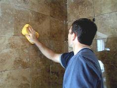 Installing Tile in a Bathroom