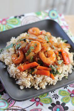Teriyaki shrimp and how to make your own teriyaki sauce