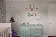Shabby Chic Dresser + Nursery Decor