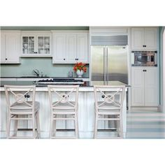 Transitional (Eclectic) Kitchen by Tobi Fairley