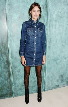 Alexa Chung in a but