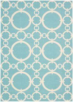 aqua rug, great price :)