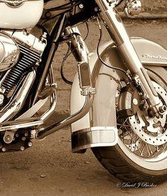Harley Davidson Road King motorcycle