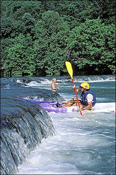 Floating Spring River, Mammoth Spring, Ar